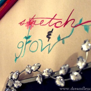 Dreamfleur Diary - Stretch & Grow