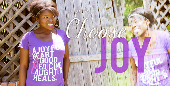A Dreamer's Diary: Choose Joy, Always! Sharing My Story